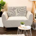 4Home Multielastyczny pokrowiec na fotel Comfort cream, 70 - 110 cm