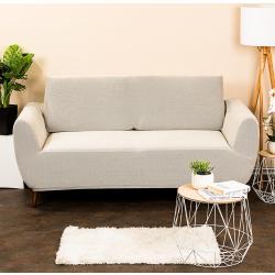 4Home Multielastyczny pokrowiec na kanapę 2-os. Comfort, cream, 140 - 180 cm