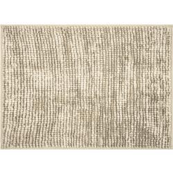 AmeliaHome Dywanik łazienkowy Bati beżowy, 70 x 120 cm