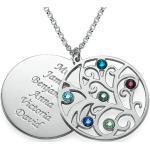 Ażurowy Medalion Rodzinny z Kamieniami