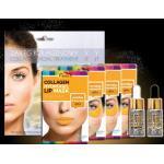 Złote Kosmetyki w płacie z peptydami regenerujące w okolicach ust na przebarwienia marki beautyface
