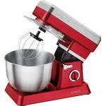 Bomann KM 398 CB – mieszacz ciast, 6,3 l, 8 prędkości, 1200 W, kolor czerwony