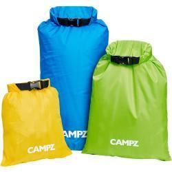 CAMPZ Fun Dry Bags zestaw Zestaw 3, multicolor 2021 Organizery podróżne