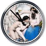 Capricci Italiani Popularny włoski zegarek, stal, srebro, rozmiar uniwersalny
