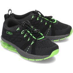 Czarne Buty sportowe dla dzieci amortyzujące sportowe marki CMP