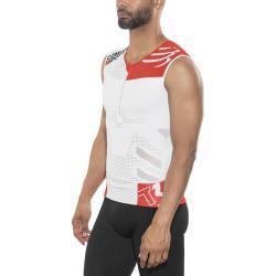 Compressport TR3 Koszulka triathlonowa, biały XS 2018 Stroje triathlonowe