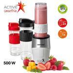 Concept SM3380 Smoothie maker Active Smoothie 500 W biały 2 x 570 ml + 400 ml