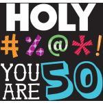 Creative Converting 16 'Count Holy Blee' 50th Birthday' serwetki obiadowe