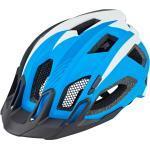 Niebieskie Kaski rowerowe damskie marki Cube