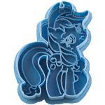 cuticuter Applejack My Little Pony foremka do wykrawania, niebieska, 8 x 7 x 1,5 cm