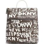 DKNY Bryant Plecak brązowy/biały