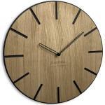 Drewniany zegar ścienny Wood Art 30cm