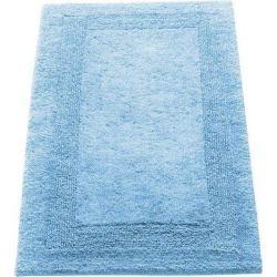 Błękitne Dywaniki łazienkowe marki Cawo