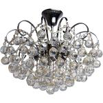 Elegancka lampa sufitowa z okrągłymi kryształami MW-LIGHT (232017706)