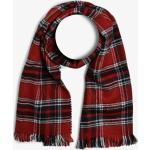 Finshley & Harding London - Szalik męski – Oxford, czerwony