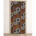 Fototapeta na drzwi abstrakcyjne wzory fp 6230