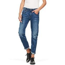 G-STAR RAW Damskie dżinsy Arc 3D Low Waist Boyfriend (Arc 3d Low Waist Boyfriend_jeans), kolor: niebieski (Medium Aged 6553-071) , rozmiar: 36W / 30L