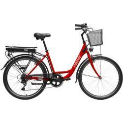 Hecht Prime Red Rower Elektryczny Miejski Trekkingowy Rekreacyjny Damski Akumulatorowy - Oficjalny Dystrybutor - Autoryzowany Dealer Hecht