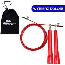 Jump Rope Plastic Handle [ 3m ] - MP SPORT - Skakanka z Plastikowymi Uchwytami Crossfit Bokserska Fitness Szybka Metalowa do Ćwiczeń z Łożyskami Łoży
