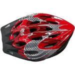 Kask rowerowy SPARTAN 30702 Czerwono-czarny MTB (rozmiar M)