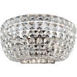 Kinkiet z kryształów o diamentowym szlifie Basfor Maytoni Classic (DIA100-WL-02-N)