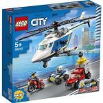 Klocki LEGO City - Pościg helikopterem policyjnym LEGO-60243
