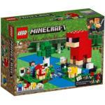 Klocki LEGO Minecraft - Hodowla owiec (21153)