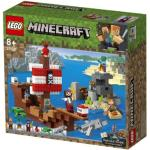 Klocki LEGO Minecraft Przygoda na statku pirackim (21152)