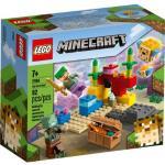 Klocki LEGO Minecraft - Rafa koralowa 21164