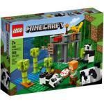 Klocki LEGO Minecraft - Żłobek dla pand LEGO-21158