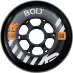 Kółka K2 Urban Bolt 80mm 90A zestaw 4 sztuk