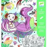 Kolorowanka z niespodzianką, podwodny świat djeco