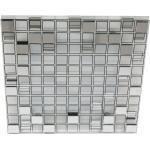 Lampa sufitowa - plafon LED szklana mozaika 31x31 cm Mosaic Candellux (10-30627)