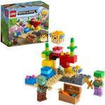 LEGO Minecraft Rafa koralowa 21164