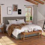 Łóżka w stylu retro marki hilding