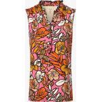 Marc Cain Collections - Damska bluzka bez rękawów, różowy