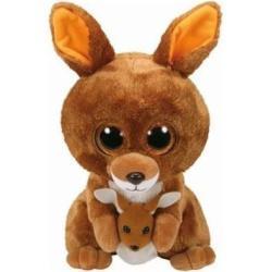 Maskotka TY INC Beanie Boos Kipper - Brązowy Kangur 24 cm 37160