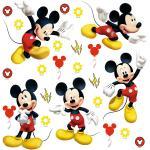 Naklejka Mickey Mouse, 30 x 30 cm
