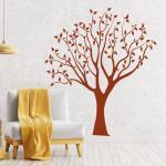 Naklejka na ścianę drzewo 2522