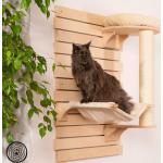 Natural Paradise Kreativ drapak dla kota, mocowany do ściany - Kremowy