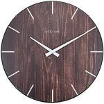 NexTime 3249BR nowoczesne ciche zegary ścienne, 35,6