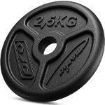 Obciążenie żeliwne 2,5 kg SLIM MW-O2,5-slim - Marbo Sport
