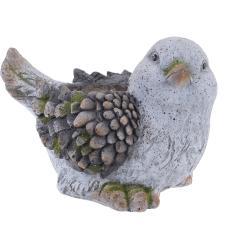 Osłonka na doniczkę w kształcie ptaszka, MGO, 25 x 33 cm