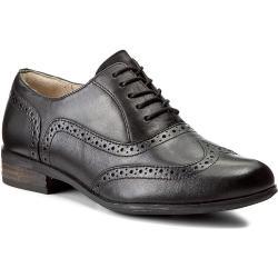 Oxfordy CLARKS - Hamble Oak 203467134 Black Leather
