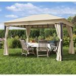 Pawilon ogrodowy Sunset Classic, szampański, 3x4m