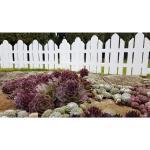 Płotek ogrodowy Home biały, 2,3 m