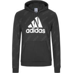 plussize: Adidas, Bluza z nadrukiem logo Czarny