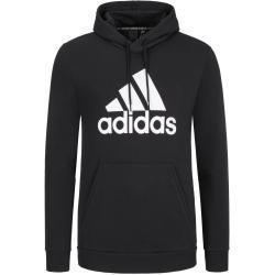 plussize: Adidas, Modna bluza z nadrukiem z przodu Czarny