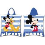 Ponczo dziecięce Mickey stripe, 50 x 115 cm