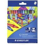 Produkt z outletu: Flamastry STAEDTLER Noris Club 12 kolorów